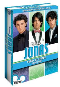 Jonas 1.série 3DVD