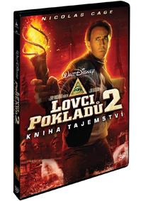 Lovci pokladů 2.: Kniha tajemství DVD