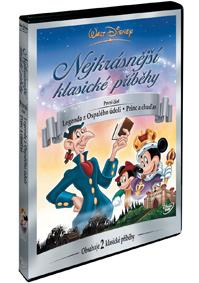 Walt Disney: Nejkrásnější klasické příběhy 1. DVD