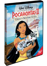Pocahontas 2: Cesta do nového světa DVD