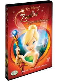 Zvonilka a ztracený poklad DVD
