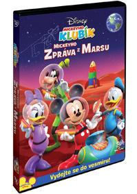 Mickeyho klubík: Mickeyho zpráva z Marsu DVD