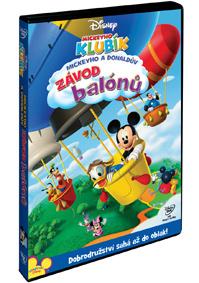 Mickeyho klubík: Mickeyho a Donaldův závod balónů DVD