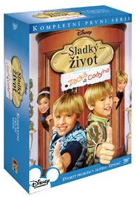 Sladký život Zacka a Codyho 1.série 4DVD
