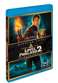 Lovci pokladů: Kniha tajemství Blu-ray