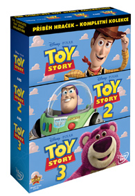 Toy Story: Příběh hraček kolekce 1-3 3DVD