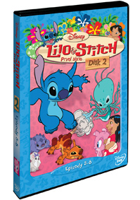 Lilo a Stitch  1. série - disk 2. DVD