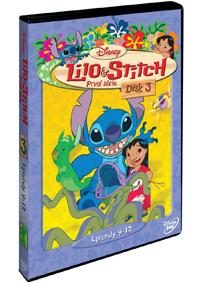 Lilo a Stitch  1. série - disk 3 DVD