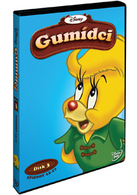 Gumídci 1. série - disk 3. DVD