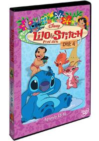 Lilo a Stitch  1. série - disk 4. DVD