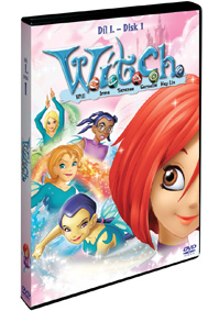 W.I.T.C.H 1.série - disk 1. DVD