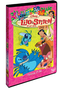 Lilo a Stitch  1. série - disk 5. DVD