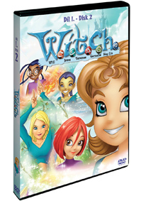 W.I.T.C.H 1.série - disk 2. DVD