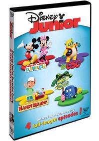 Disney Junior: Příběhy s překvapením DVD