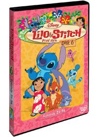 Lilo a Stitch  1. série - disk 6. DVD
