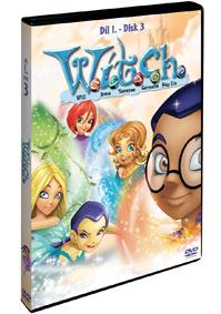 W.I.T.C.H 1.série - disk 3. DVD