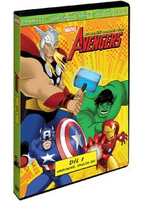 The Avengers: Nejmocnější hrdinové světa 1. DVD