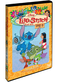 Lilo a Stitch  1. série - disk 8. DVD