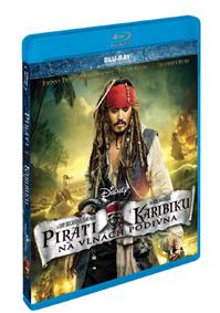 Piráti z Karibiku: Na vlnách podivna Blu-ray