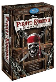 Piráti z Karibiku 1-4. Blu-ray