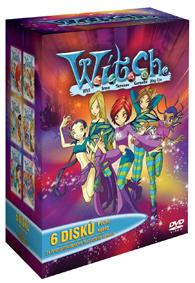 Kolekce W.I.T.C.H 1.série 6DVD
