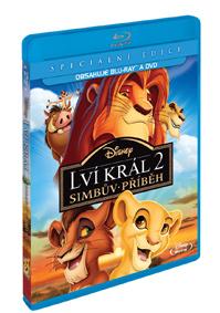 Lví král 2: Simbův příběh Blu-ray+DVD (Combo Pack)