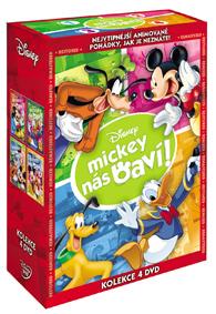 Kolekce Mickey nás baví! 4DVD