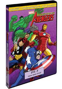 The Avengers: Nejmocnější hrdinové světa 3. DVD