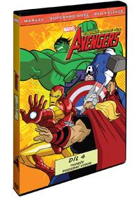 The Avengers: Nejmocnější hrdinové světa 4. DVD