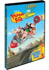 Phineas a Ferb: Nejlínější den v životě DVD