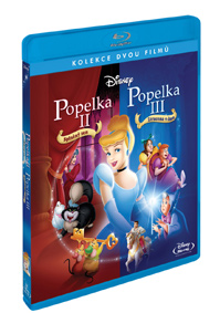 Popelka 2.: Splněný sen SE + Popelka 3.: Ztracena v čase SE Blu-ray