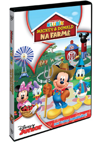 Disney Junior: Mickey a Donald na farmě DVD