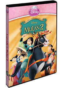 Legenda o Mulan 2. - Edice princezen DVD