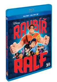 Raubíř Ralf 2Blu-ray (3D+2D)