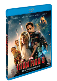 Iron Man 3. Blu-ray