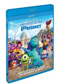 Univerzita pro příšerky Blu-ray