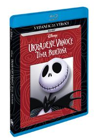 Ukradené Vánoce Tima Burtona Blu-ray (RO)