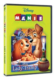 Lady a Tramp DE - Edice Disney mánie DVD