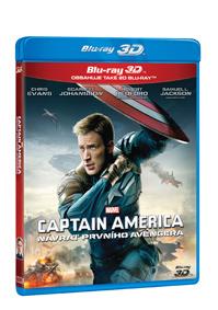 Captain America: Návrat prvního Avengera 2Blu-ray (3D+2D)