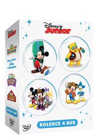 Disney Junior kolekce 4DVD