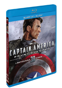 Captain America: První Avenger 2Blu-ray (3D+2D)