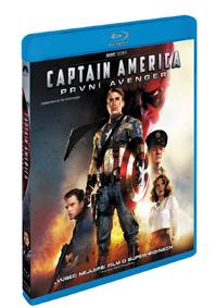 Captain America: První Avenger Blu-ray