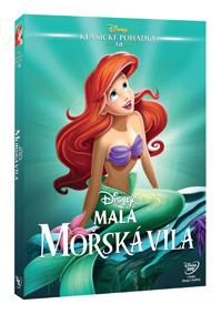 Malá mořská víla - Edice Disney klasické pohádky DVD