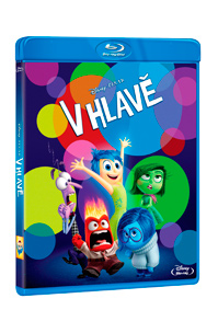 V hlavě Blu-ray
