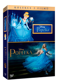 Popelka + Popelka DE kolekce 2DVD