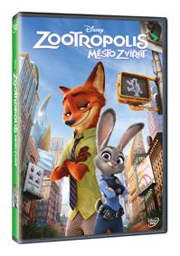 Zootropolis: Město zvířat DVD
