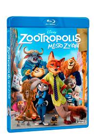 Zootropolis: Město zvířat Blu-ray