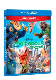 Zootropolis: Město zvířat 2Blu-ray (3D+2D)
