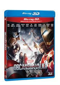 Captain America: Občanská válka 2Blu-ray (3D+2D)
