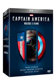 Captain America trilogie 1.-3. 3DVD